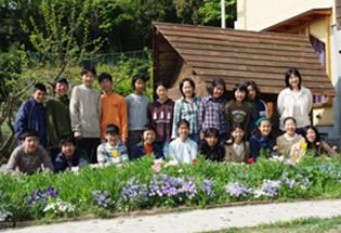 8年生の集合写真