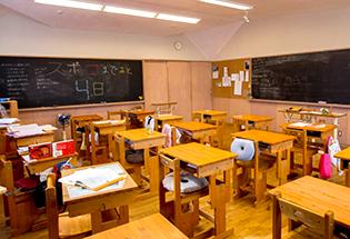 10,11年生の教室